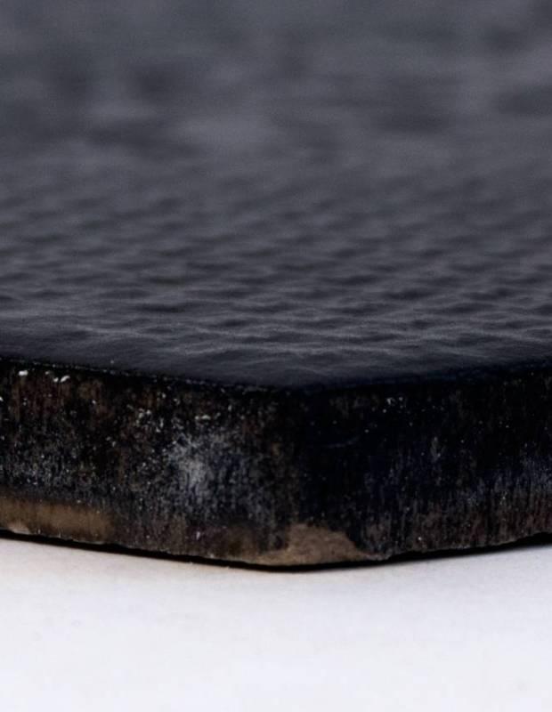 carrelage tomette noir pour int rieur mi2406002. Black Bedroom Furniture Sets. Home Design Ideas