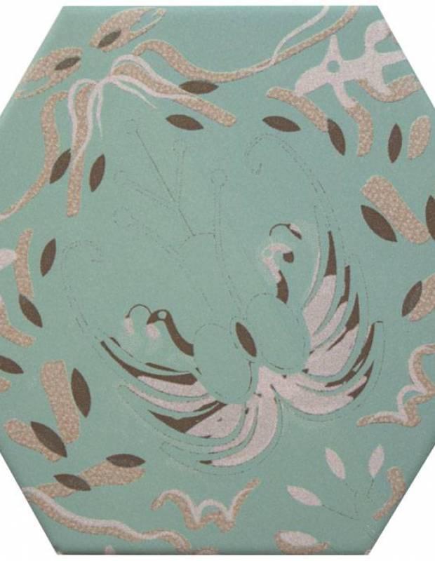 Carrelage hexagonal, la tomette grès cérame good vibes - GO0812005