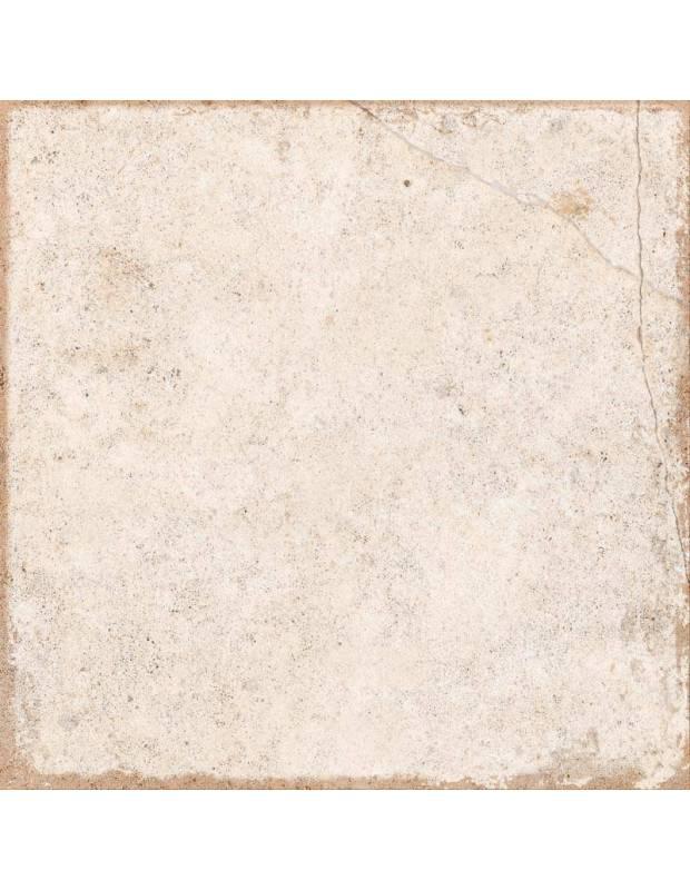 Carrelage 25 x 25 cm écru effet pierre - TR1719001