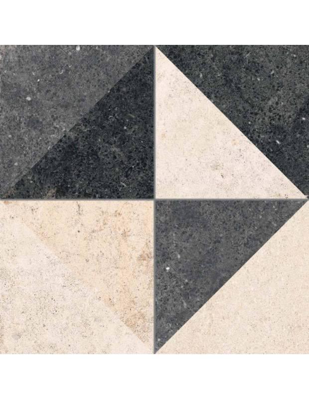 Carrelage 25 x 25 cm mosaique pierres multicolores - TR1719004
