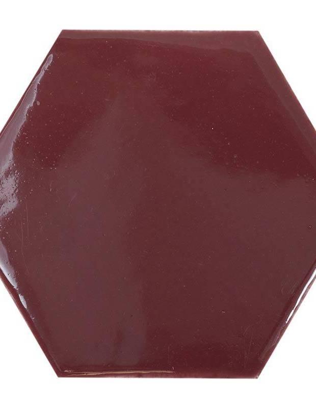 Carrelage hexagonal mural tomette artisanale - CE1406035