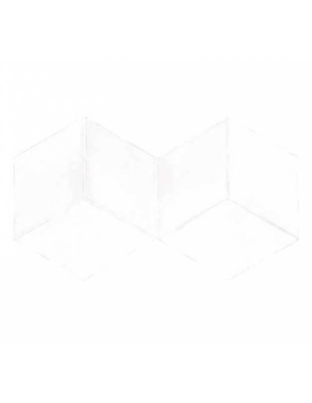 Carrelage en losange à tons blancs intérieur et extérieur - MU5903001