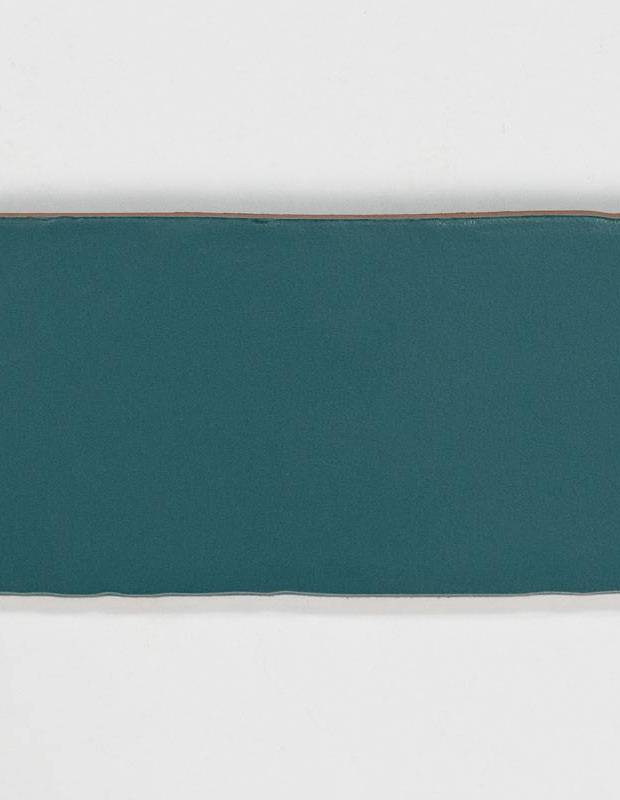 Carrelage rétro mural satiné bleu - AN0802016
