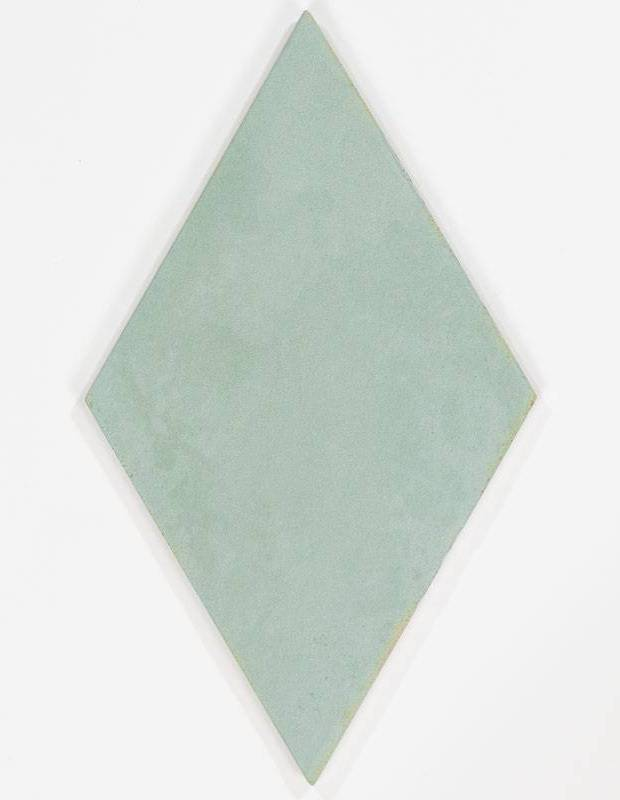 Carrelage en losange à tons turquoises intérieur et extérieur - MU5903003