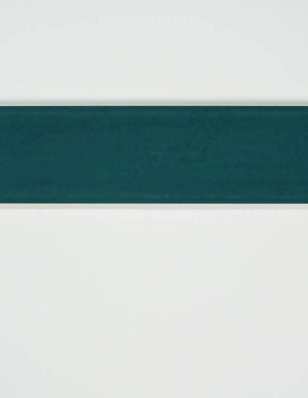 Zellige bleu marine rectangle de 7.5 x 30cm émail brillant - NA9505004