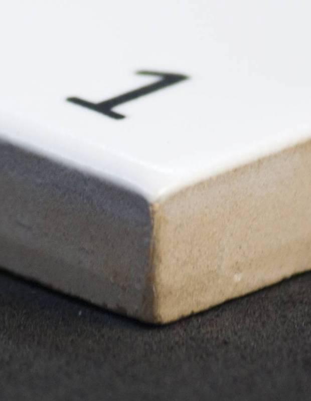 Carrelage scrabble lettre S 10 x 10 cm - LE0804019