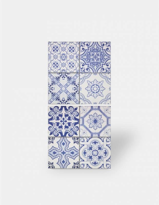 Carrelage imitation carreau ciment sol et mur 20 x 20 cm - VI0203004