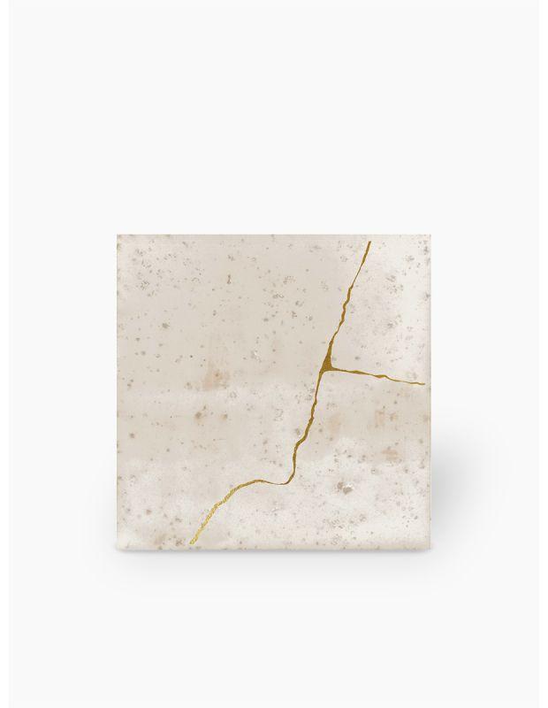"""Carrelage design lettre """"B"""" 10x10 cm mat blanc 10 x 10 cm - LE0804002"""