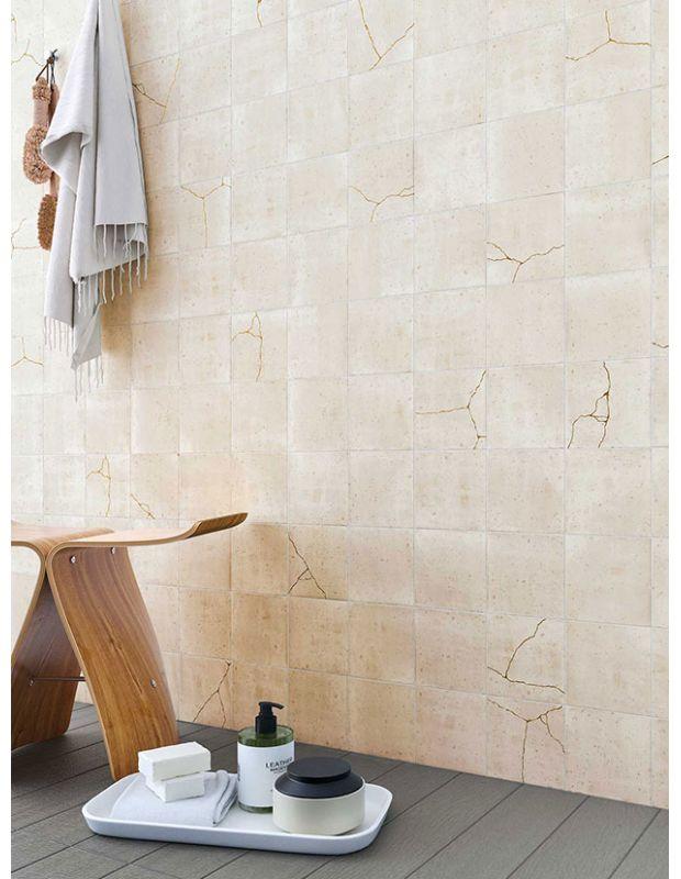 """Carrelage design lettre """"G"""" 10x10 cm mat blanc 10 x 10 cm - LE0804007"""