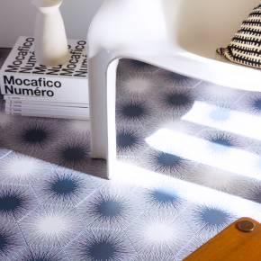 """Carrelage design lettre """"X"""" 10x10 cm mat blanc 10 x 10 cm - LE0804024"""