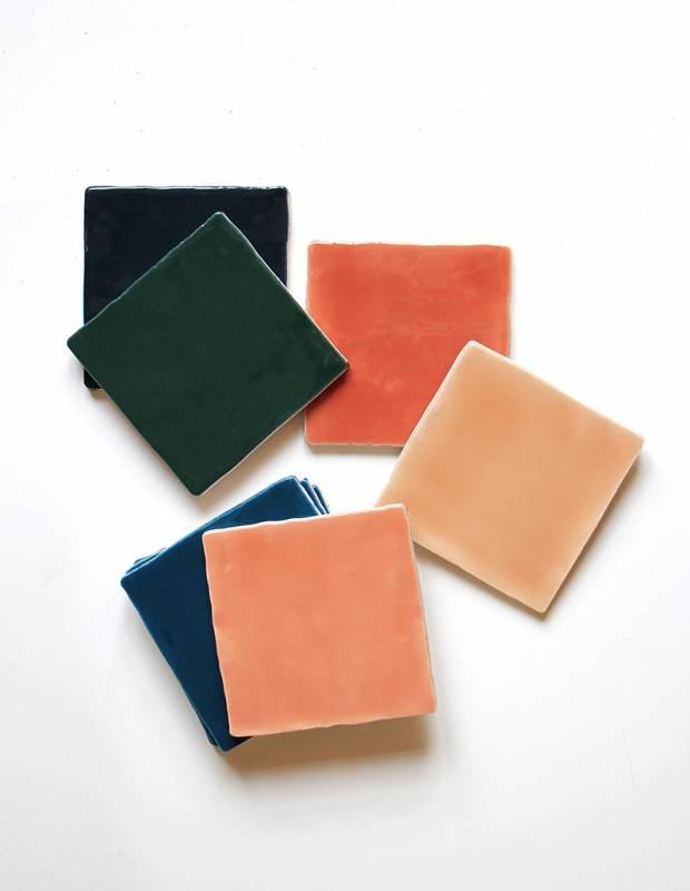Carrelage imitation carreau ciment sol et mur 20 x 20 cm - NE0108042