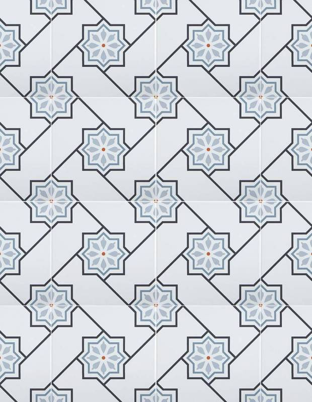 Carrelage design mural mat gris 20 x 20 cm - CE0111001