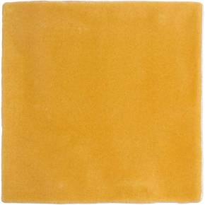 Carrelage mural ancien brillant jaune 10 x 10 cm - PR0809031